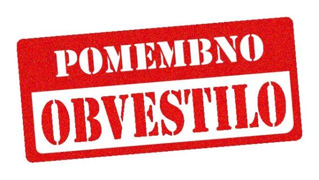Podaljšanje prepovedi opravljanja storitev in podaljšanje dokumentacije